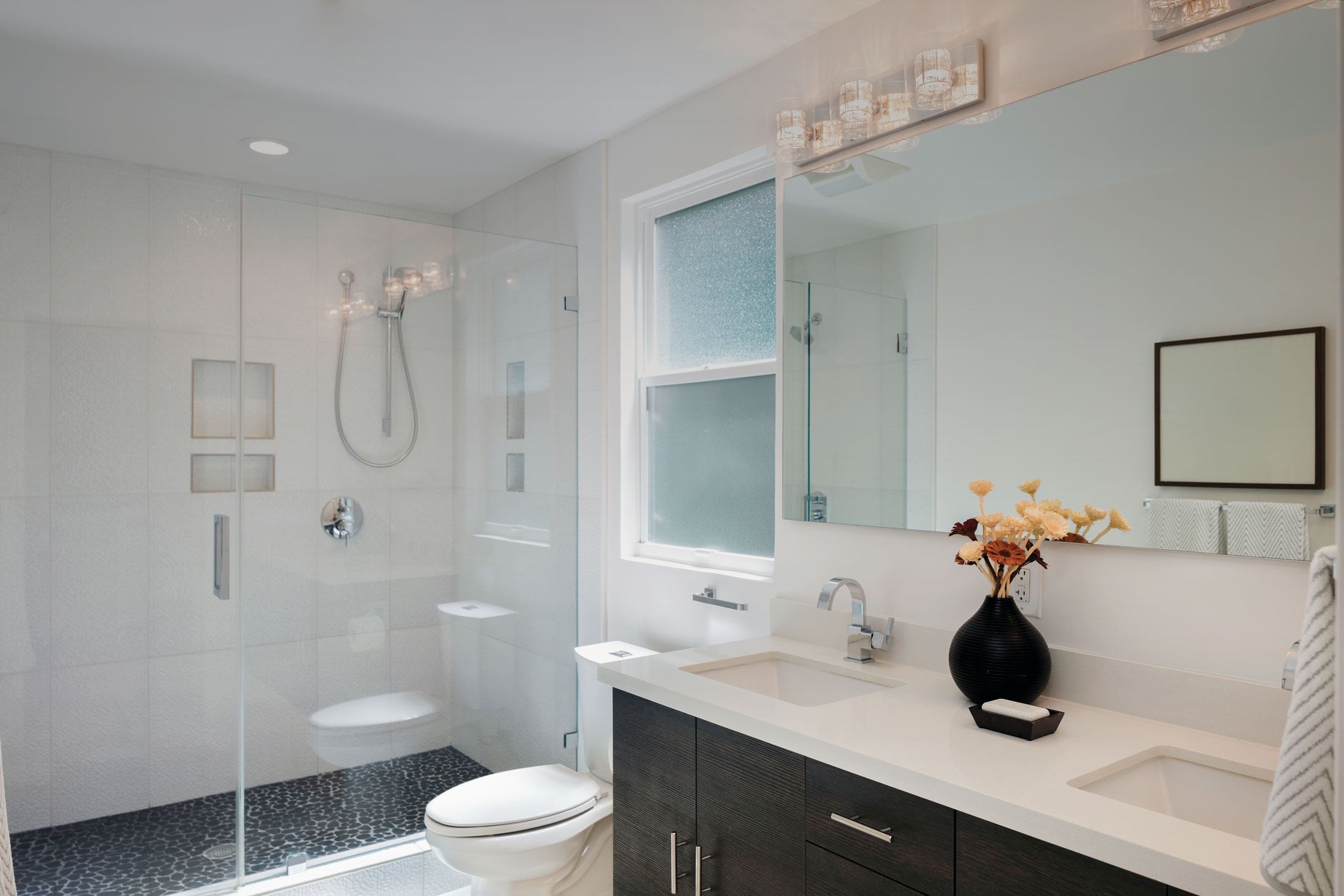 Bathroom Mirror and enclosure